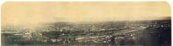 [Panorama di Torino dalla collina verso il Monte dei Cappuccini]