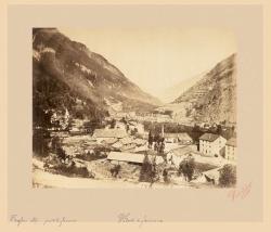 Traforo delle Alpi. Parte di Francia. Veduta di Fournaux