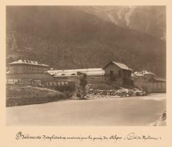 Bâtiments d'exploitation construits pour la Percée des Alpes, Côté de Modane