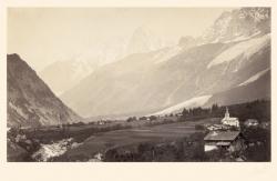 Savoie 20 – Entrée de la Vallée de Chamonix, aux Ouches