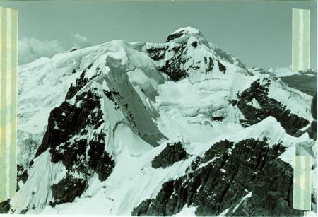Nevado Ananea visto dalla città di Desio