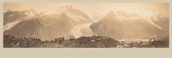 Mont Blanc. Vu de la Flegere