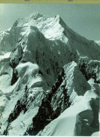 Nevado Yerupajà dal ghiacciaio Tsacra Grande