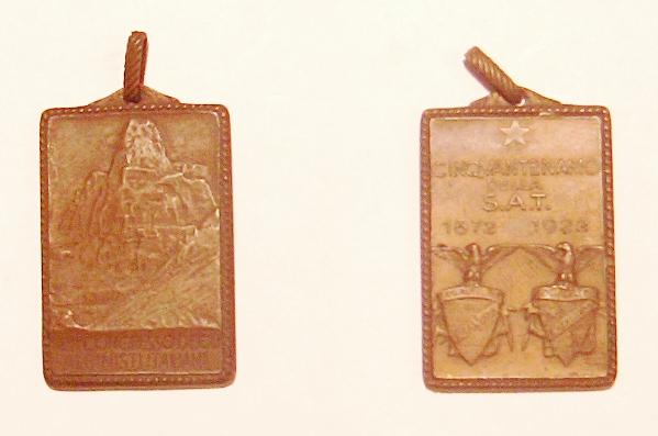 Cinquantenario della S.A.T. 1872 1922