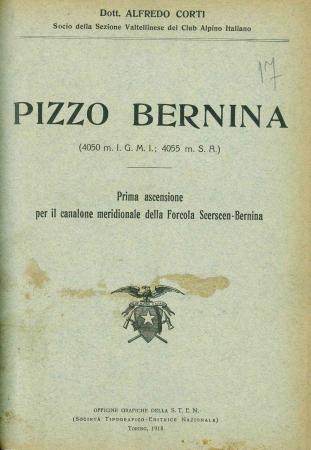 Pizzo Bernina 4050 m. Igmi 4055 m s.a.