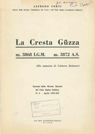 La cresta Guzza