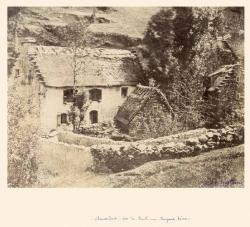 Chaumières près de Pont-en-Royans, Isère