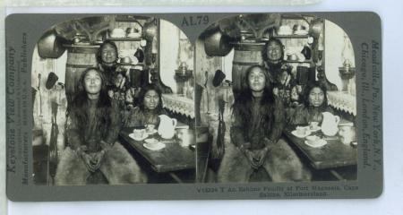 AL79 (V13334) - T An Eskimo Family at Fort Magnesia, Cape Sabine, Ellesmereland