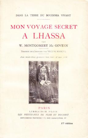 Mon voyage secret a Lhassa