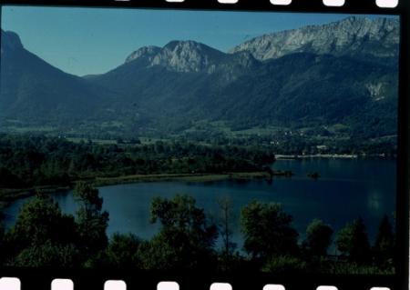 [Immagini per pubblicità fotografiche: les marais de la cluse d'Annecy, Gentiana Pneumonanthe, cosmetici Clarins]