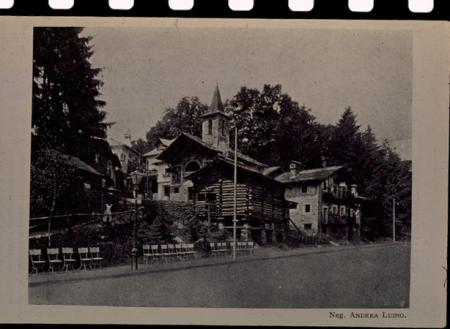 [Architetture montane all'Esposizione internazionale di Torino del 1911 e all'Esposizione nazionale alpina di Torino del 1884, Palazzotto dei Conti Francesetti a Mezzenile]