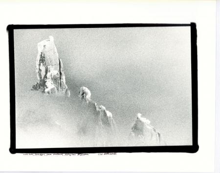 Cerro Torre, Torre Egger, Cerro Standhart, Patagonia, Argentina gennaio 1998