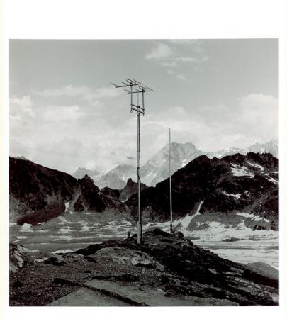 Du coté de la Cabanne des Dix Valais, Suisse 1987