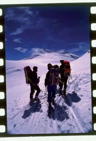 [Gruppo Ortler-Cevedale: alpinisti in ascesa]
