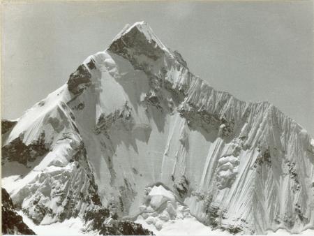 Nevado Yerupaja parete sud