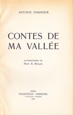 Contes de ma vallée