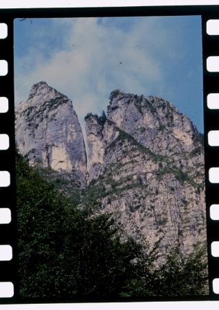 [Riprese varie: itinerario sulle dolomiti Monti del Sole]