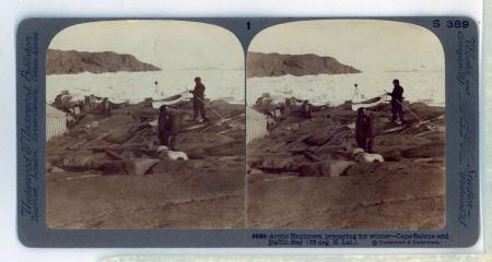 4686 Arctic Explorers, preparing for winter - Cape Sabine and Baffin Bay
