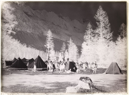[Campeggio in Val Vény, 1921]
