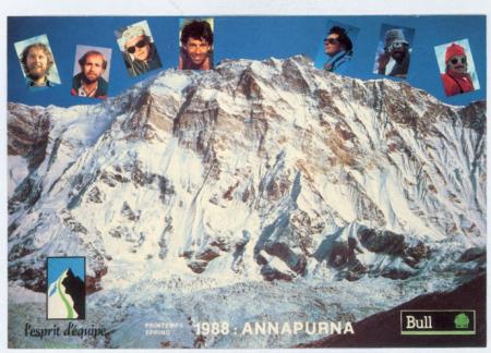 [L'Esprit d'equipe, spedizione sull'Annapurna]