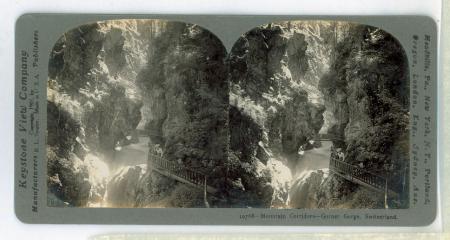 10768 Mountain Corridors - Gorner Gorge, Switzerlad