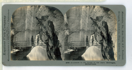 10745 Entrance to the Gorge of the Aare, Meiringen, Switzerland