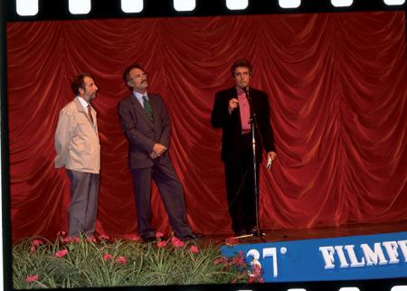 [Riprese varie al Trento Film Festival e premiazione Premio ITAS]