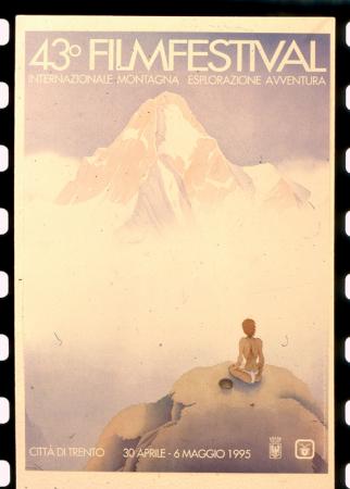 [Locandina 43° Film Festival Internazionale Montagna Esplorazione Avventura, Trento]