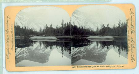 9466 - Beautiful Mirror Lake, Yo Semite Valley, Cal., U.S.A.