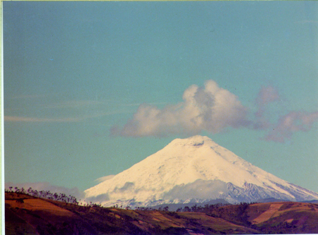 Il Cotopaxi da Quito