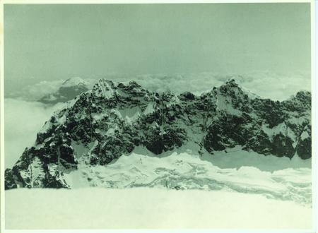 Canonigo, Fraile Grande da sud, sullo sfondo il Tungurahua