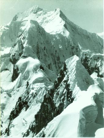Dallo Tsacra Grande. Nevado Rasac, Yerupaja, Tsacra Chico
