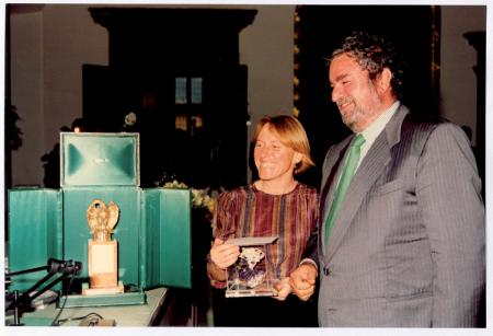 [Conferimento del premio ITAS: Mario Dalmaviva e Paola Mazzarelli]