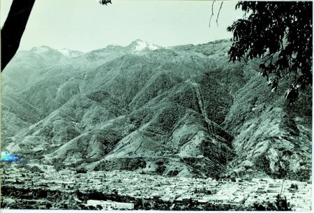 Pico Bolivar visto da Merida