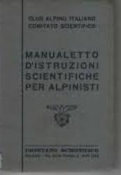 Manualetto di istruzioni scientifiche per alpinisti