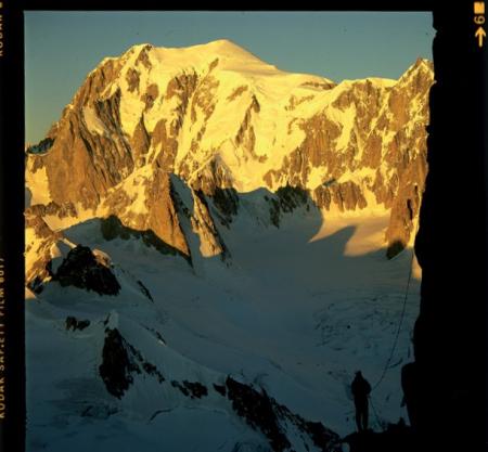 [Riprese varie di cime montuose nel massiccio del Monte Bianco]