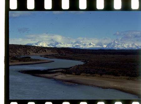 [Riprese varie della Patagonia: Maurizio Giordani e Rosanna Manfrini sul CerroTorre e Aguja Saint Exupery]