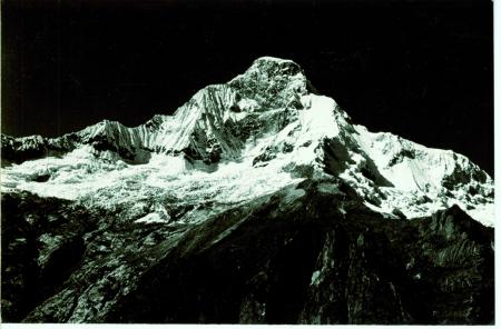 Huascaran parete nord