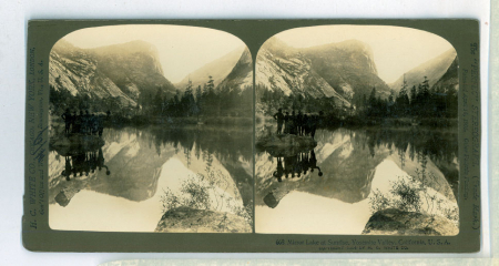 668 Mirror Lake at Sunrise, Yosemite Valley, California, U.S.A.