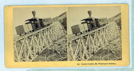 134 Jacob's Ladder, Mt. Washington Railway