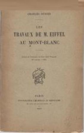 Les travaux de M. Eiffel au Mont-Blanc