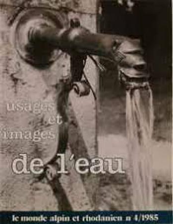 Usages et images de l'eau
