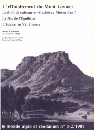 L'effondrement du Mont Granier