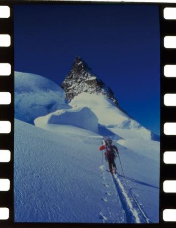 Trav[ersata delle] Alpi in sci