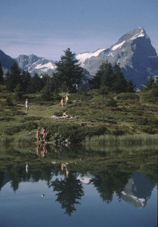 [Riprese varie del Canton dei Grigioni: attività estive sportive e ricreative]