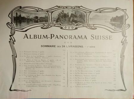 Album-Panorama Suisse - 1re Série