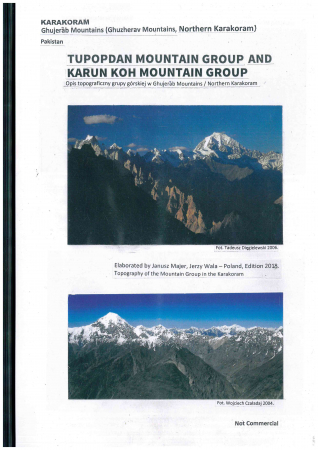 Tupopdan Mountain group and Karun Koh Mountain Group