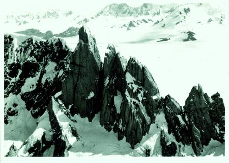 Visat del Cerro Torre e Torre Egger dal Fitz Roy