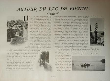 [Livraison 3]: *Autour du lac de Bienne