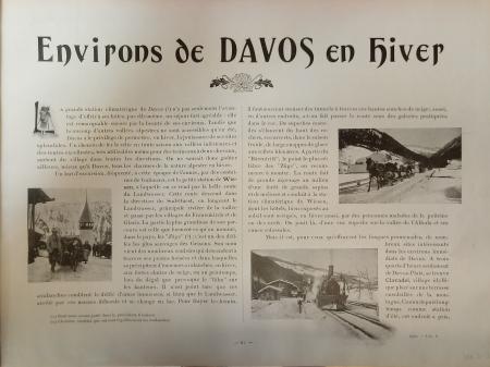 [Livraison 6]: *Environs de Davos en hiver